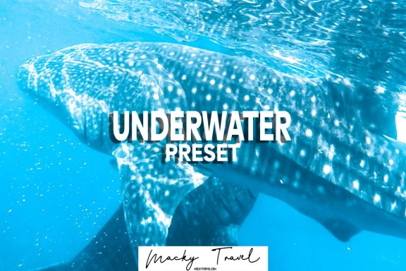 underwater lightroom presets