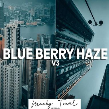 free dark blue berry haze dng xmp lightroom presets