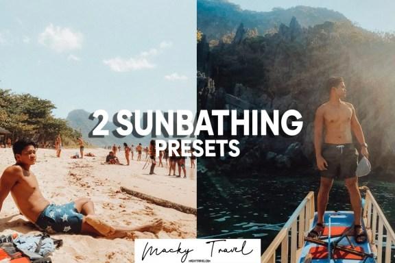 2 sunbathing lightroom presets