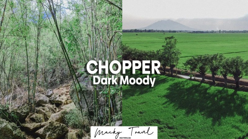 chopper dark moody lightroom preset