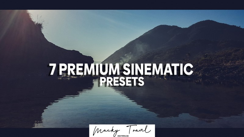 7 premium sinematic lightroom presets
