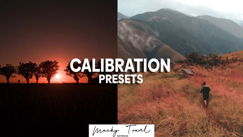 2 Premium calibration lightroom presets