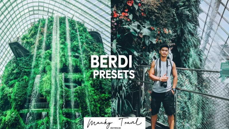 3 premium berdi travel lightroom presets