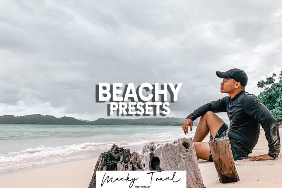 beachy lightroom presets
