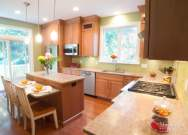 Caesarstone Sutton Quartz Perimeter Countertops West Chester PA by MacLaren