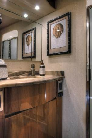 viking 62 convertible yacht granite vanity