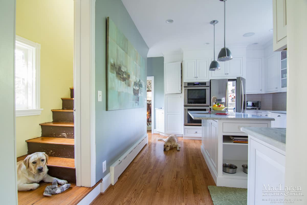 Inviting Kitchen For People & Pets Too - Wayne, PA - MacLaren ...