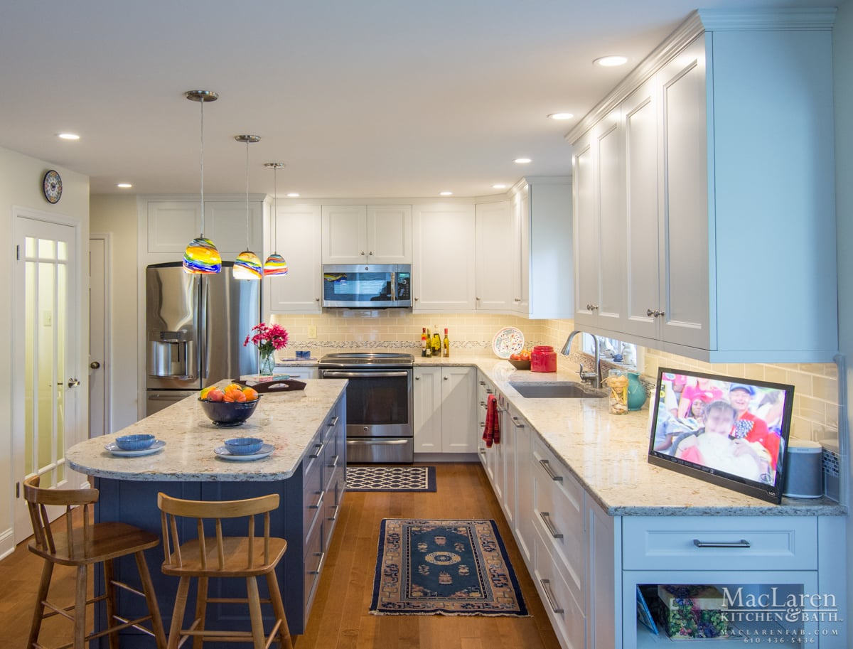 Eclectic Kitchens: Bright Eclectic Kitchen- Wayne, PA