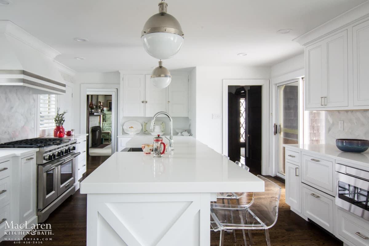 Contemporary Designer Kitchen- Avalon, NJ - MacLaren Kitchen and Bath