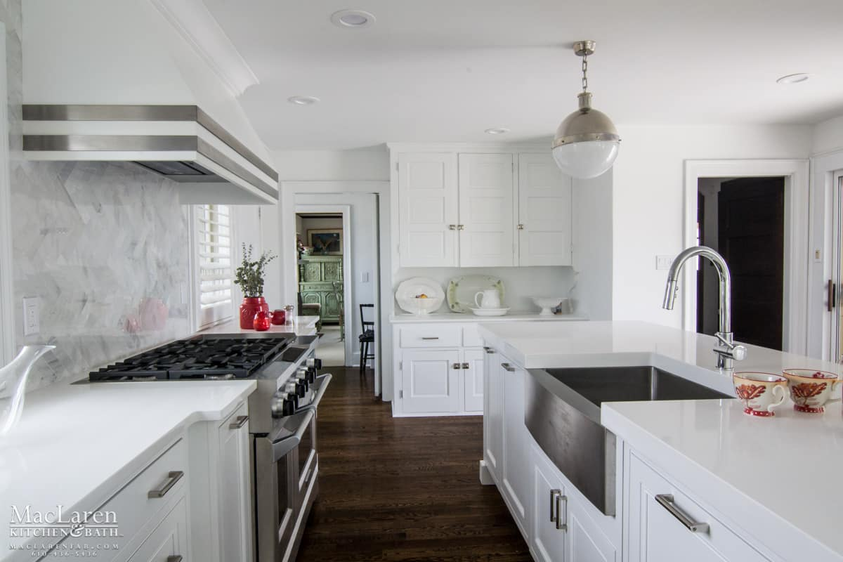 Contemporary Designer Kitchen Avalon Nj Maclaren
