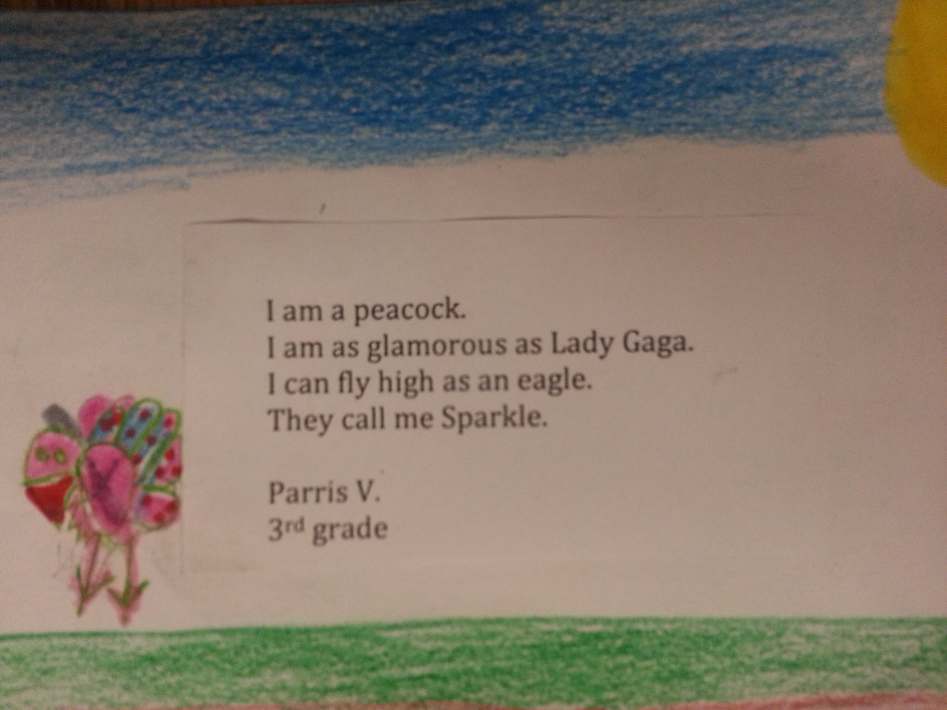 Spring Poetry For Second Graders