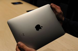 Apple iPad back-view