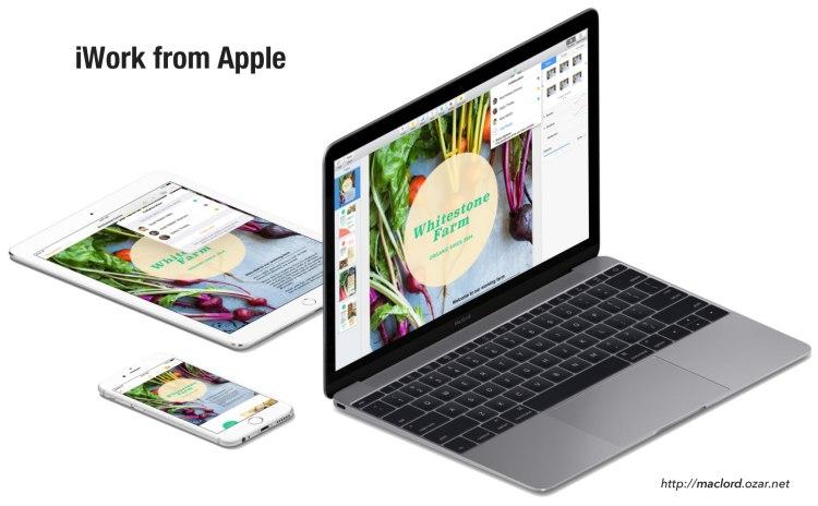 iWork from Apple