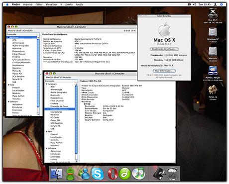 Mac OS X em PC