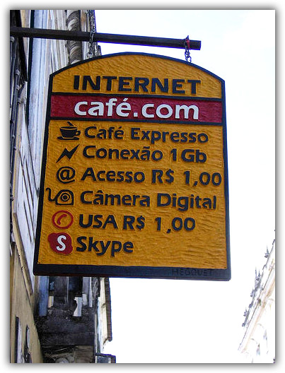 Internet de 1GB no Pelourinho