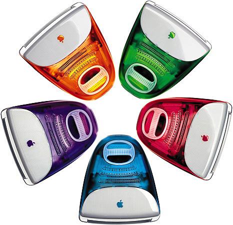 iMacs G3 coloridos