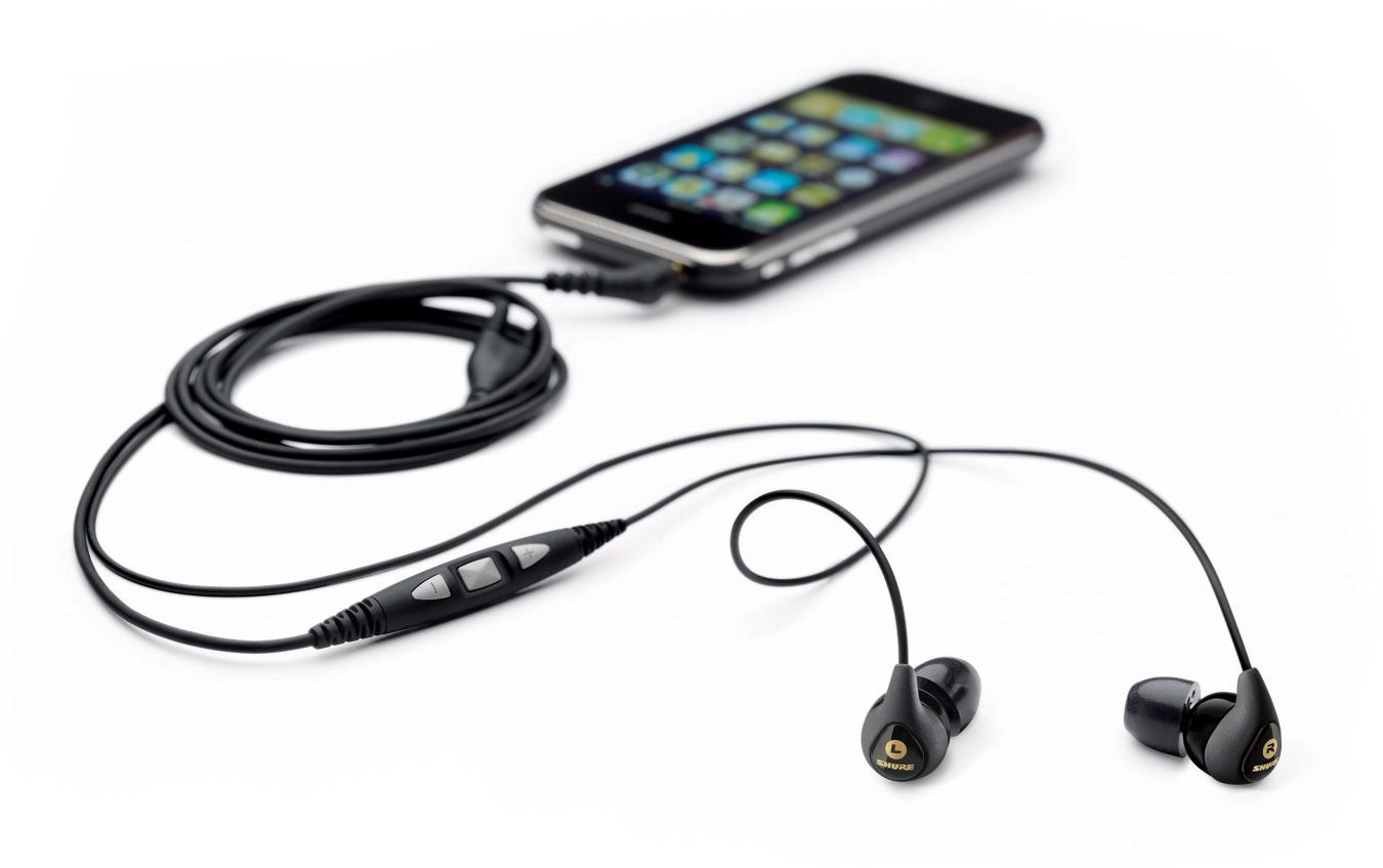 Shure lança fones de ouvido compatíveis com o iPhone, com