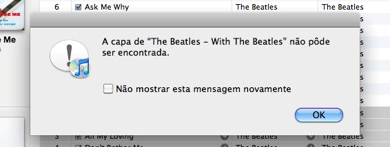 Cover Art - erro iTunes