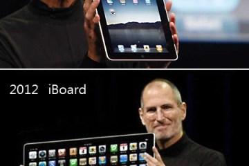 Evolução do iPad