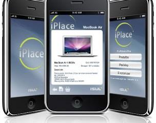 App da iPlace no iPhone