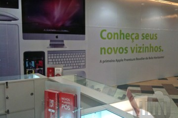 iPlace do Shopping DiamondMall, em Belo Horizonte