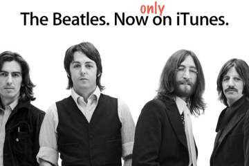 Beatles, só na iTunes Store