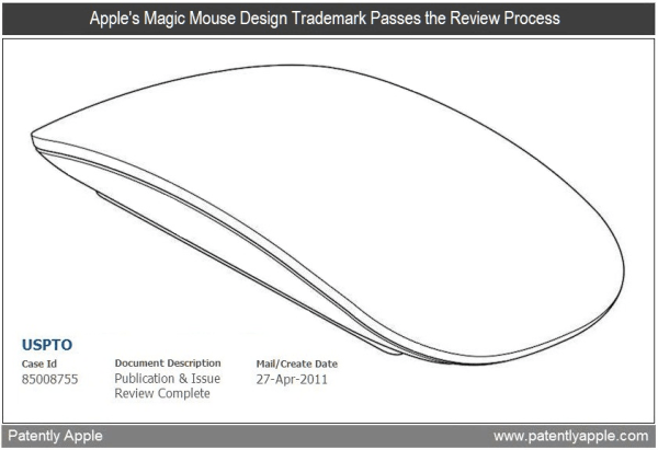 Design do Magic Mouse