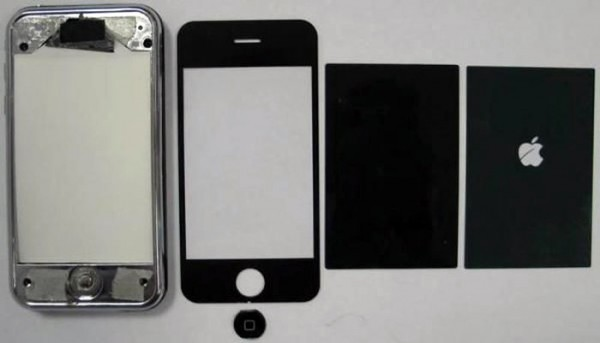 iPhone falso com logo da Apple