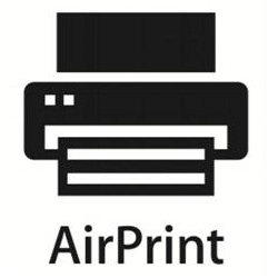 Símbolo do AirPrint