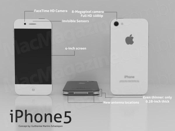 Conceito de iPhone 4S/5