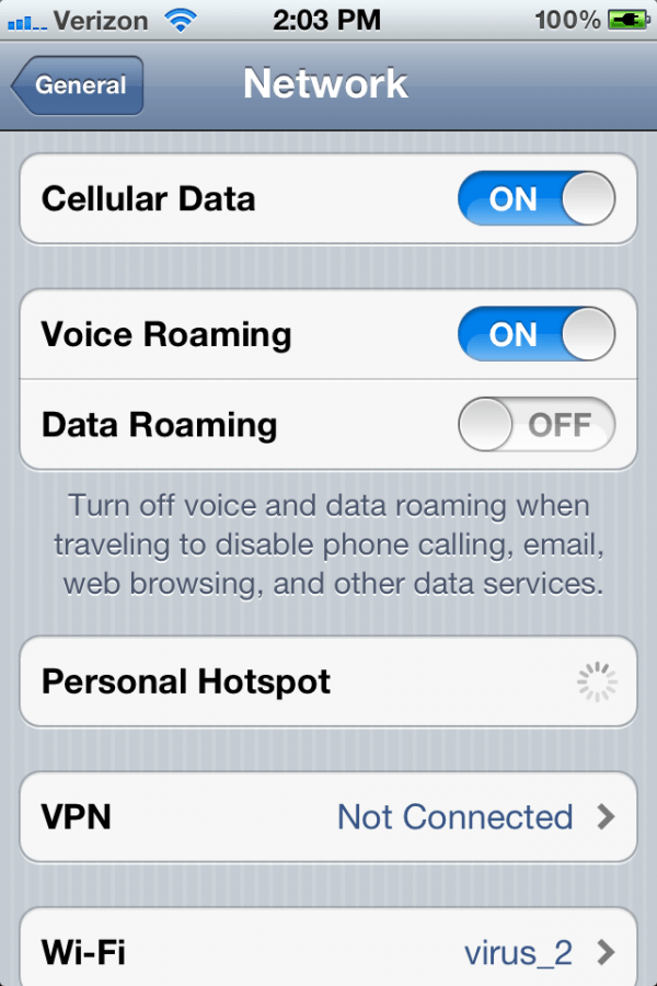 Roaming de voz no iOS 5 beta 3