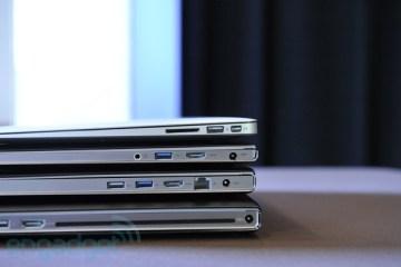 MacBook Air e Lenovo U300, U300S e U400 empilhados - Engagdet