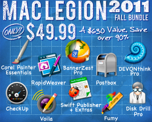 MacLegion Fall Bundle 2011