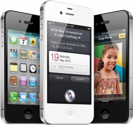 iPhones 4S de frente