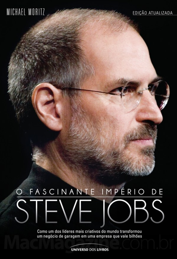 9d8bd3f9327 Já leu a biografia autorizada de Steve Jobs? Concorra então agora ao livro