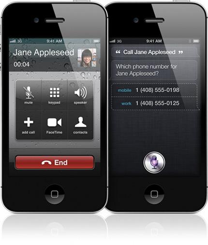Ligação no iPhone 4S