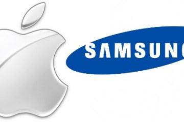 Logo - Apple e Samsung