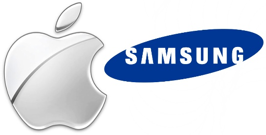Logo - Apple e Samsung