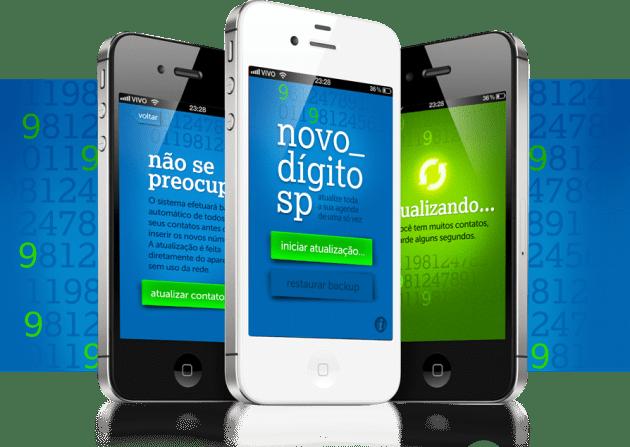 Novo Dígito SP em iPhones