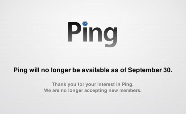 Ping sendo enterrada