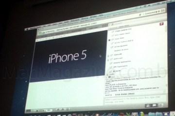 iPhone 5 em Apple Premium Reseller