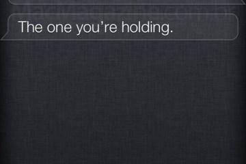 Siri - best smartphone ever