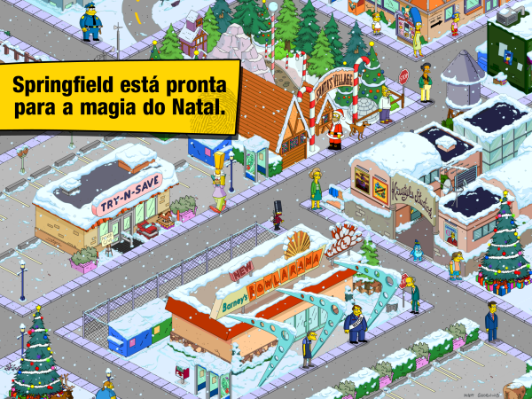 Jogo The Simpsons: Tapped Out