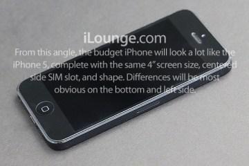 iPhone de baixo custo pelo iLounge