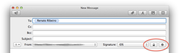 Criptografia no Mail