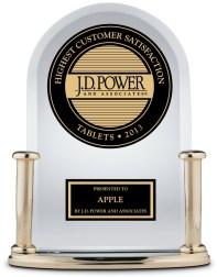 Troféu J.D. Power - iPad (2013)