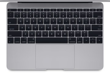 Teclado do novo MacBook