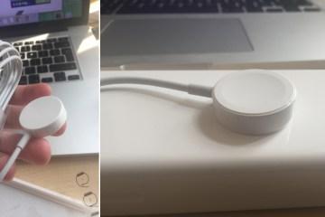 Cabo magnético do Apple Watch Sport
