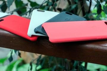 Capas de silicone da Apple