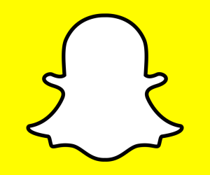 Ícone do Snapchat para iPhones/iPods touch